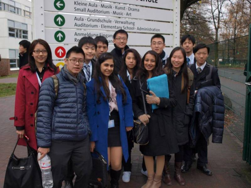 Crossing borders and making friendships in chilly Berlin