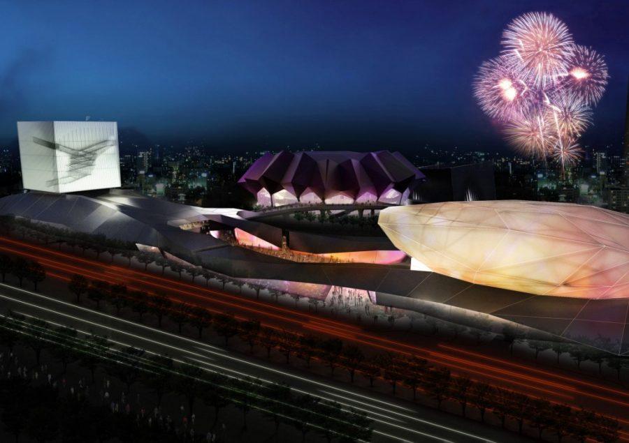 Taipei puts performing arts center stage