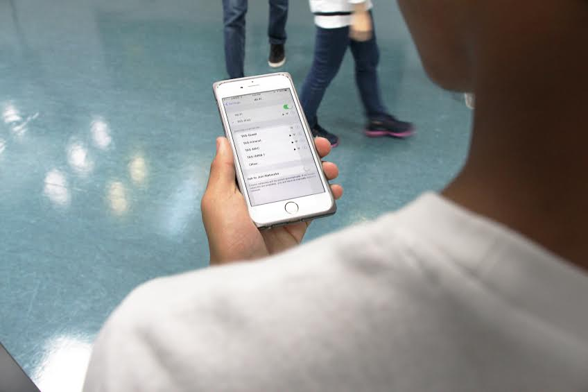 IT opens WiFi for TAS Students with iOS devices