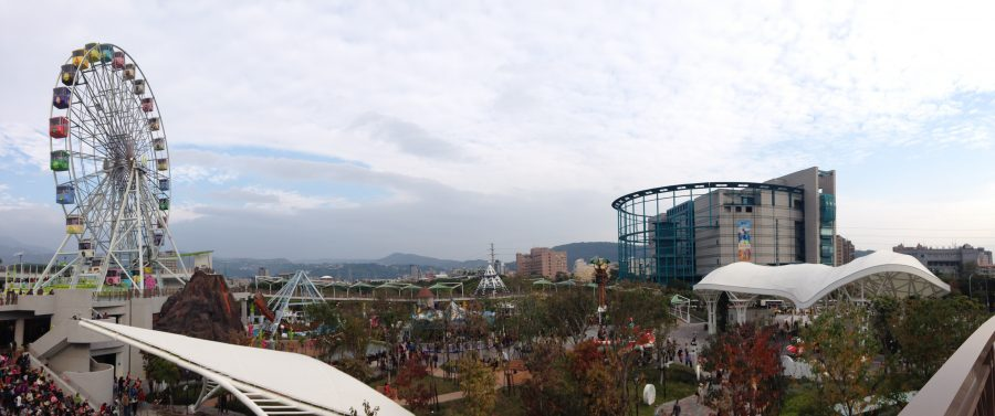 Built to replace: Taipei Children's Amusement Park welcomes large crowds