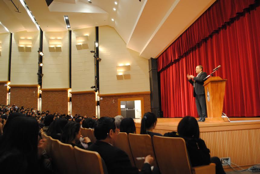 Dr. Goldstein Talks Taiwan