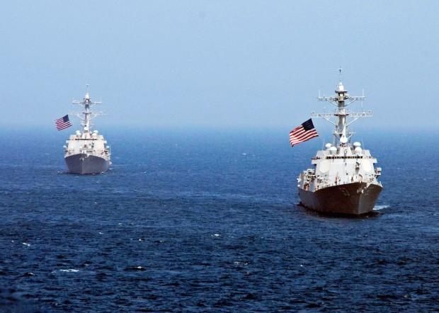 USS Lassen Sent to China