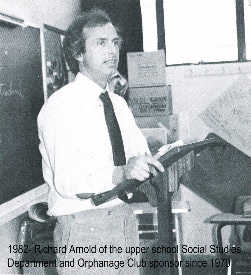 A Glimpse into the Past with Mr. Arnold