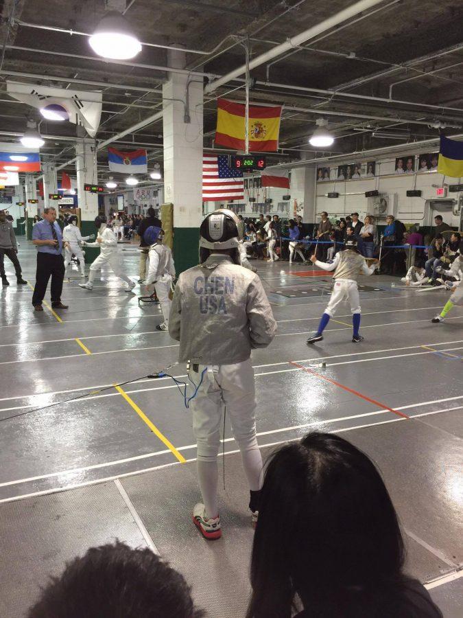 Maxwell C. (10): Fencing