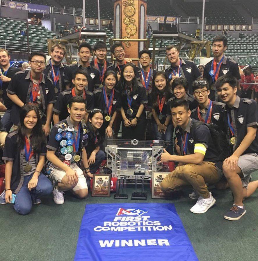 TAS Robotics advances to FRC World quarter finals