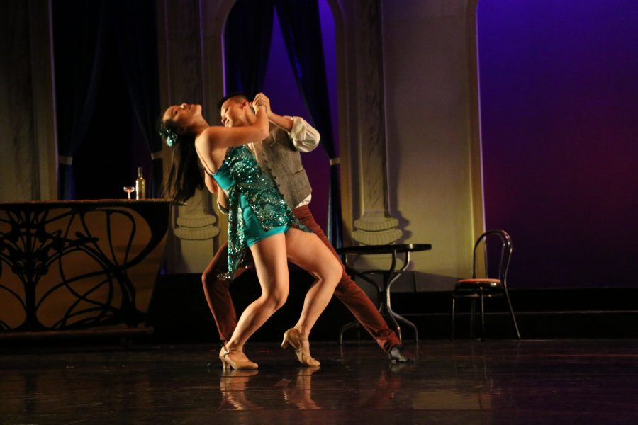 Dance production takes center stage