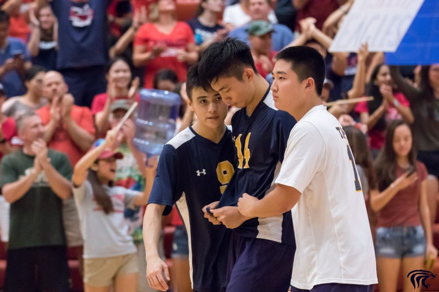 Boys and girls volleyball place at IASAS
