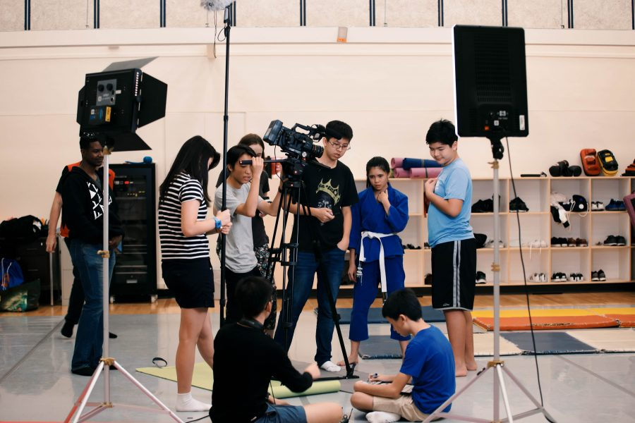 Lights, camera, action: 48 hours in the life of a film student