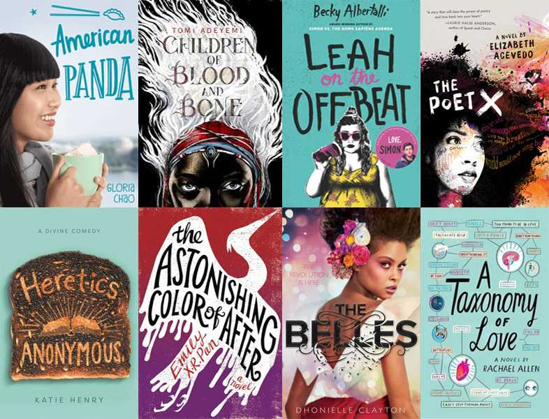 Eight young adult books for 2018
