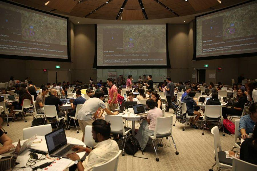 Volunteers+participate+in+a+2017+Mapathon+hosted+in+Singapore.+%28Photo+Courtesy+of+Doctors+Without+Borders%29