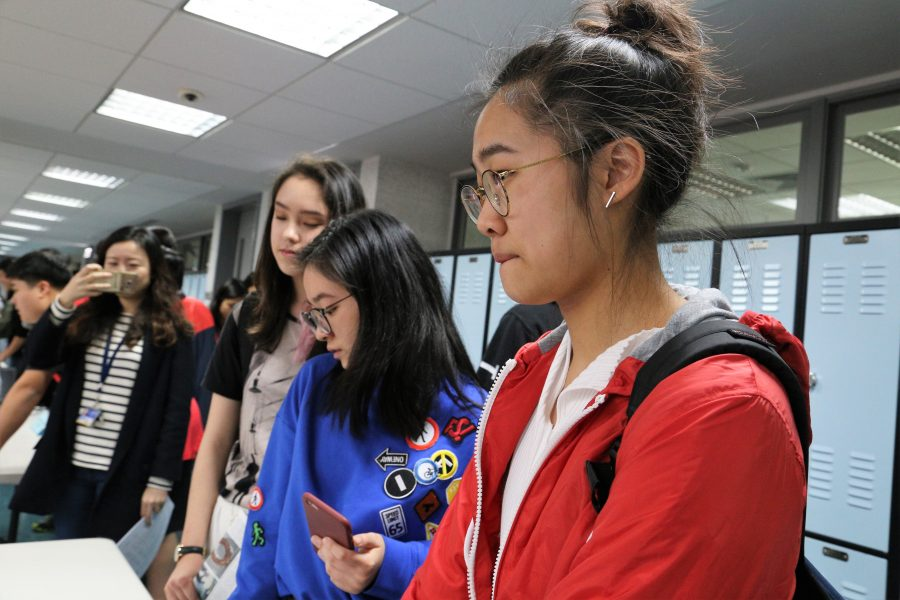 Juniors attend faculty-led college fair