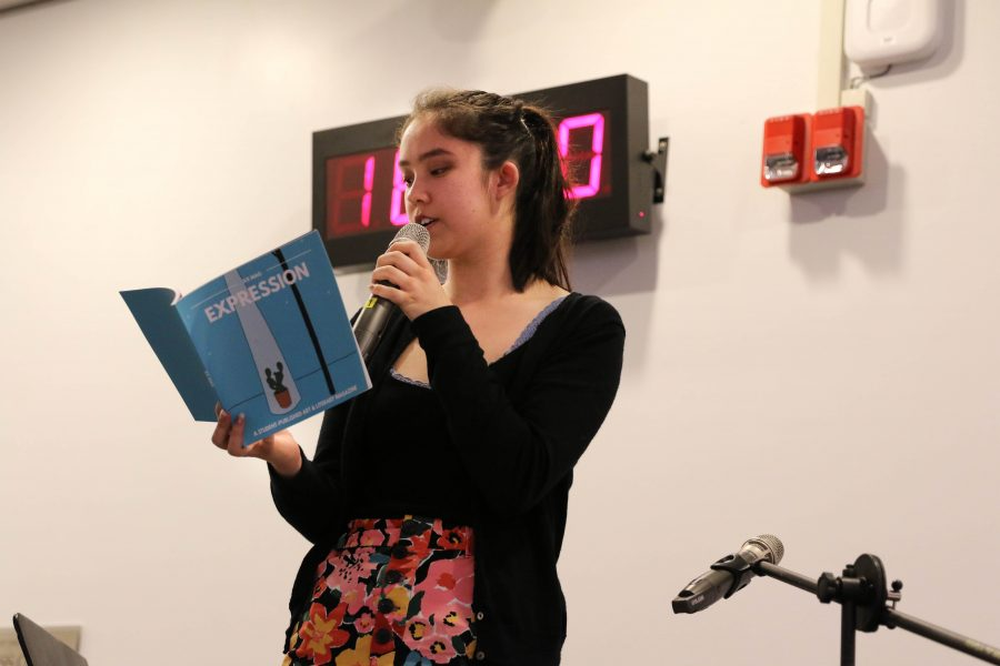 Club holds annual Poetry Cafe