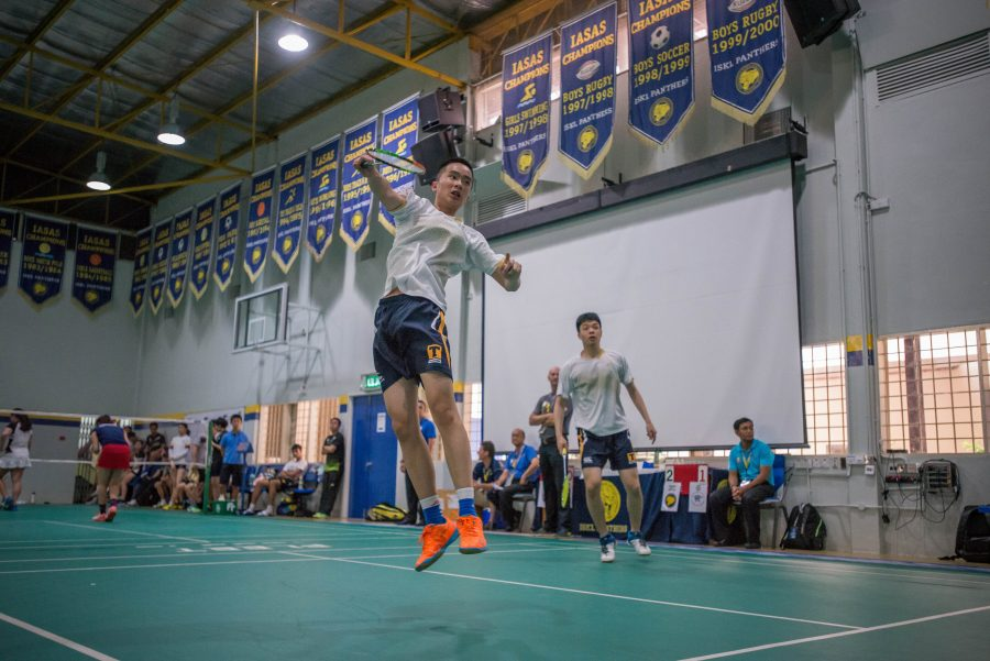 Girls and boys badminton win gold and silver