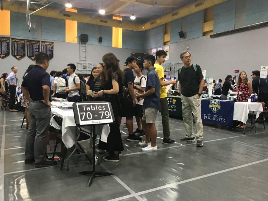 Taipei American Schools hosts international college fair