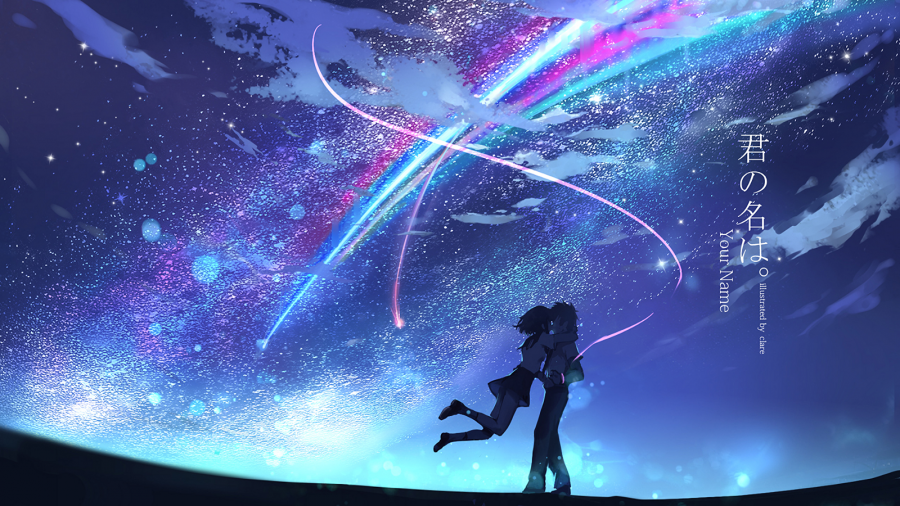 Premiered in 2016, Kimi No Na Wa (Your Name) is the highest grossing anime film of all time. [Photo courtesy of CoMix Wave