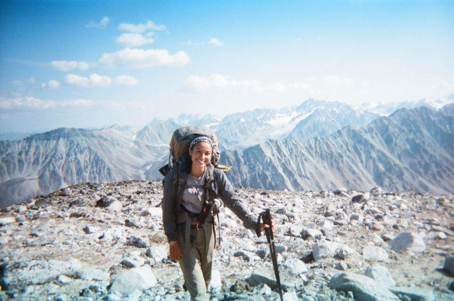 Chloe M. ('20) went on a four week backpacking trip in Alaska. In total, she traveled 170 miles on foot, carrying 20 kilograms worth of supplies as she walked. [PHOTO COURTESY OF CHLOE MANN]