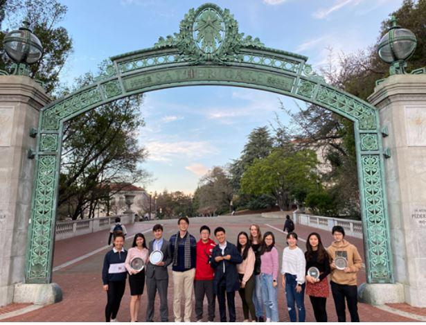 TAS Speech and Debate rewrites history at Stanford and Berkeley Invitationals