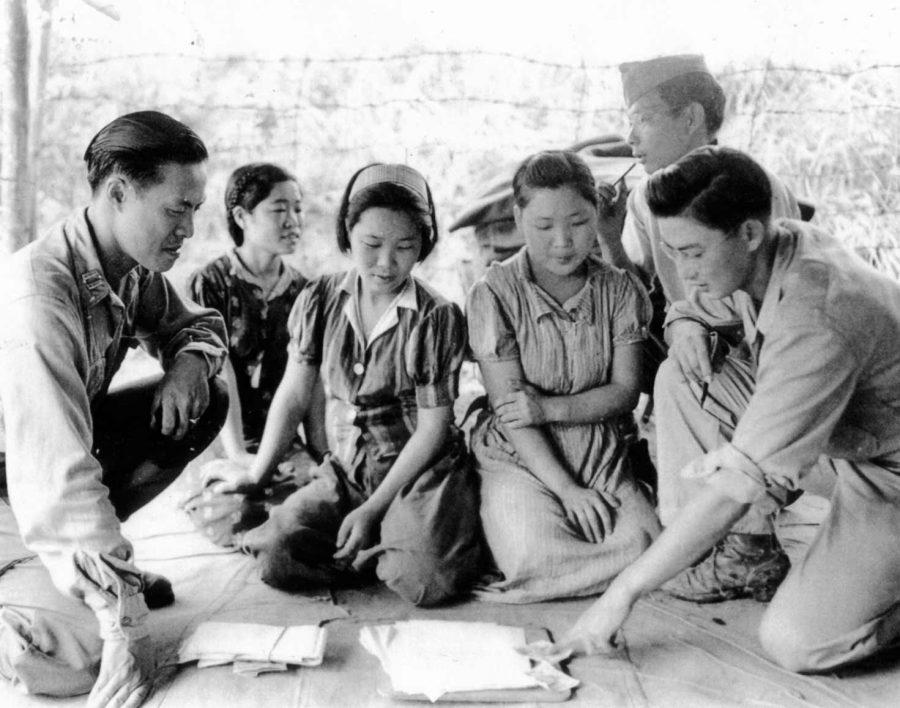 Comfort+women+were+coerced+into+sexual+slavery+by+the+Imperial+Japan+government+to+provide+sexual+services+to+the+army+troops+before+and+during+World+War+II.+%5BPhoto+Courtesy+of+US+National+Archives%5D+