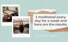 I meditated every day for a week and here are the results
