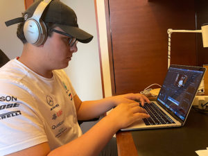 Gustavo V. ('22) used a school-borrowed camera, a few lenses, a microphone with an audio receiver and a MacBook Pro to make a five minute documentary that features the lives of three Latino chefs in Taiwan.