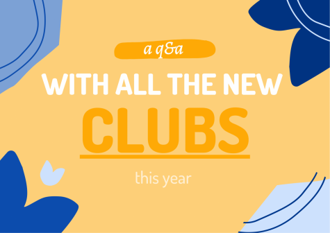 Q&A with the new clubs this year