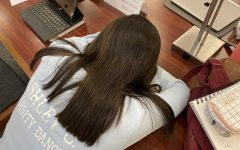 Students often take naps during their breaks in order to perform better academically since they lack sleep.