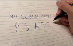 Students often find themselves unfocused during the 35-minute classes following the PSATs. [AMBER WU/THE BLUE & GOLD]